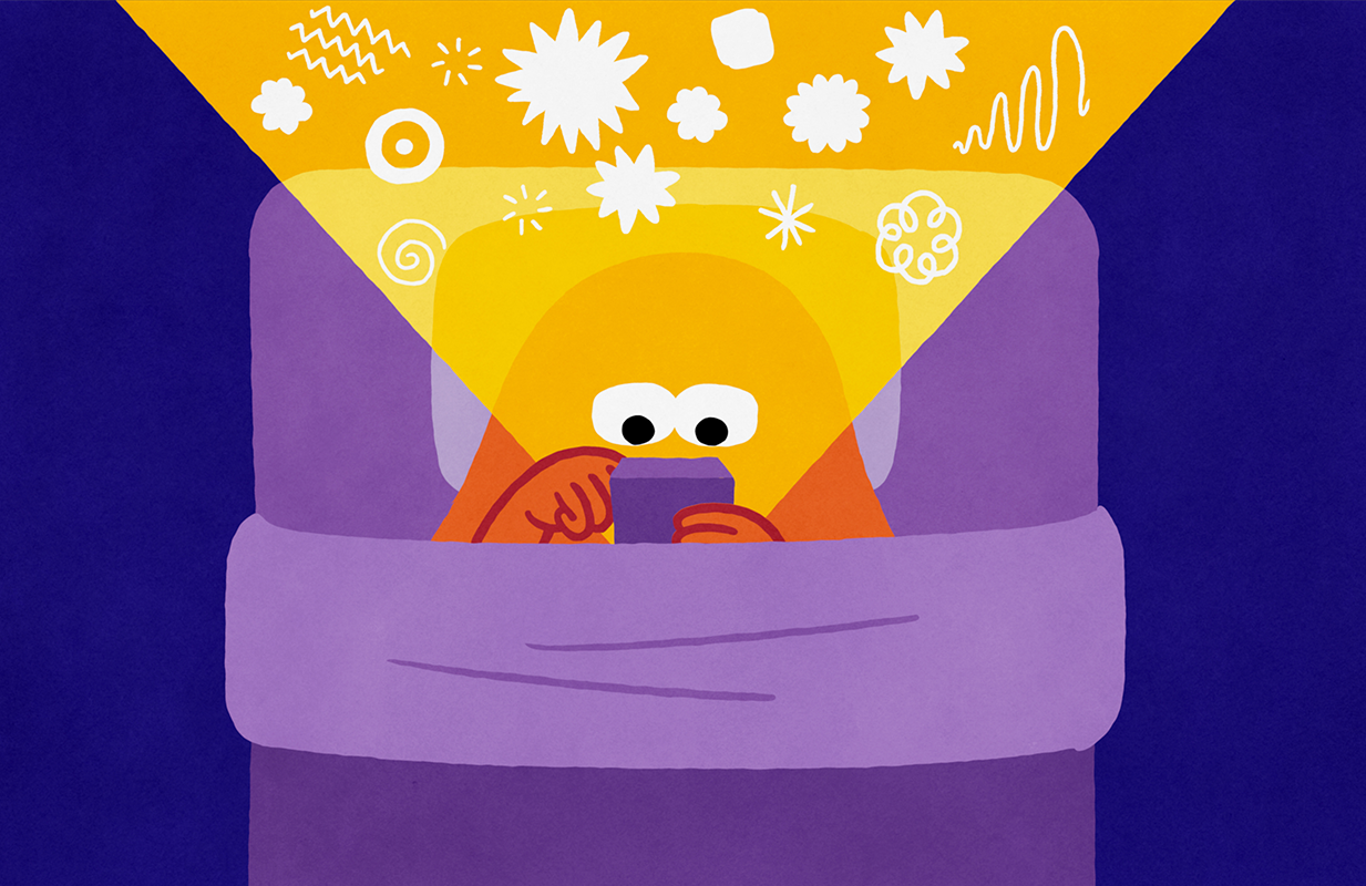 Headspace Guide to Sleep warns of the dangers of bringing your phone into bed (Netflix)