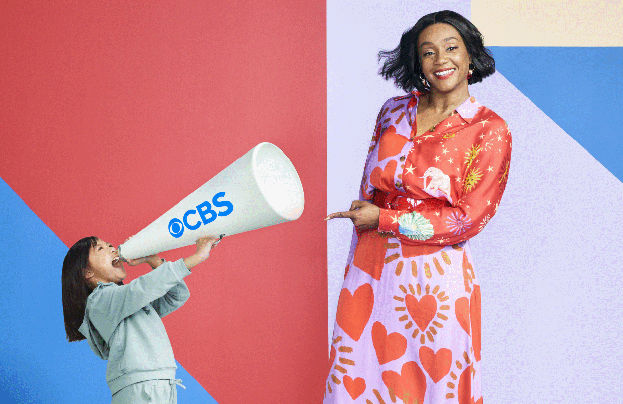 Same show, new network: Tiffany Haddish brings Kids Say the Darndest Things to CBS. (Photo: Emily Shur/CBS)