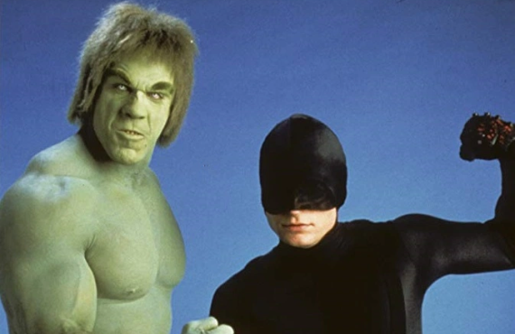Lou Ferrigno and Rex Smith in The Trial of the Incredible Hulk (NBC)