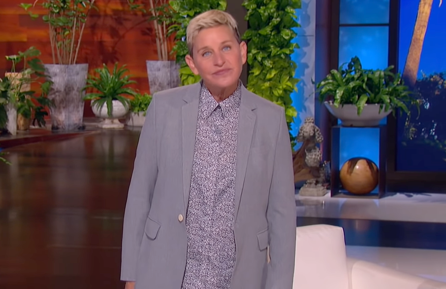 Ellen is doing for canned laughter what Maury did for paternity tests.