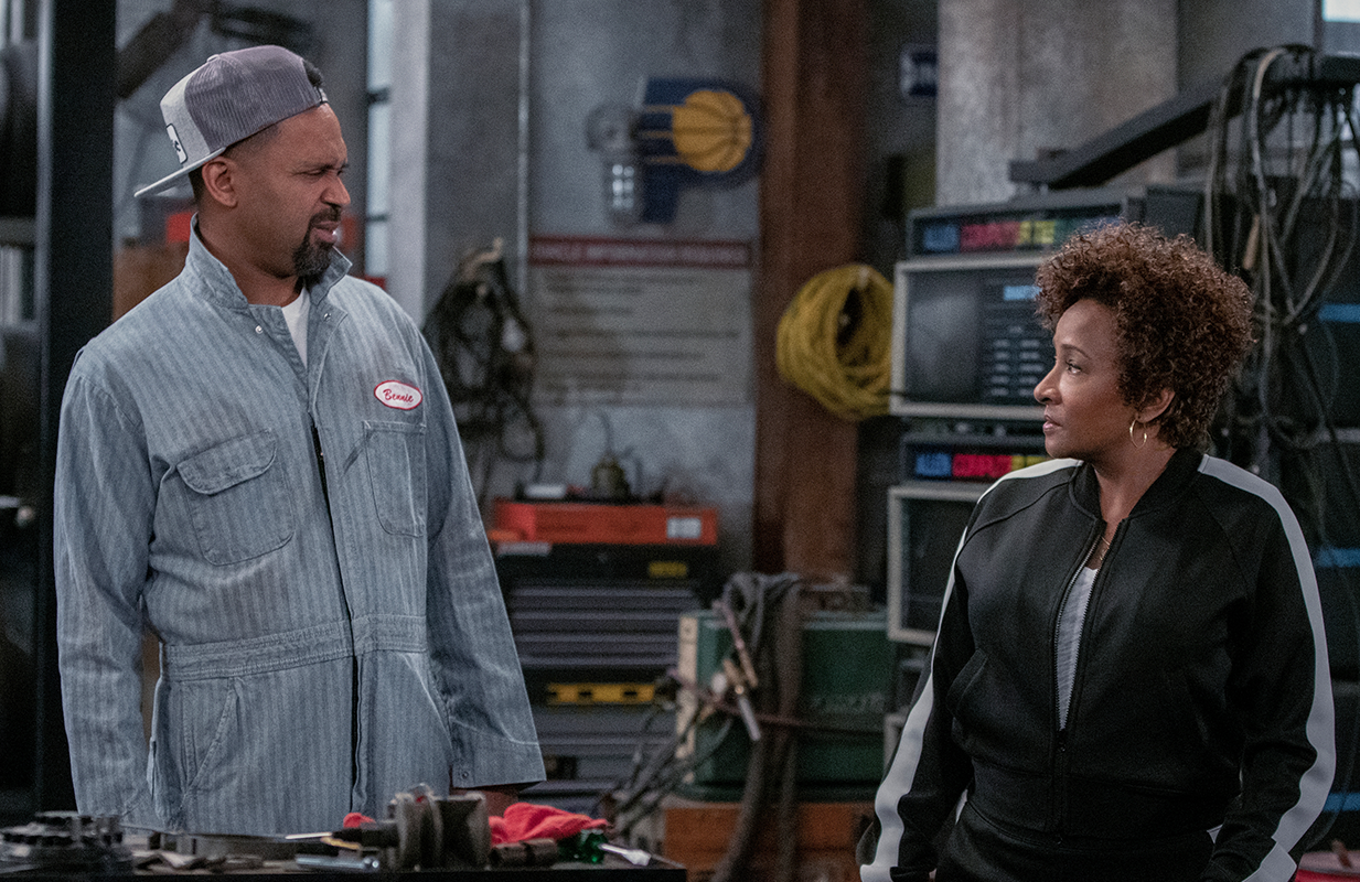 Mike Epps and Wanda Sykes in The Upshaws (Netflix)