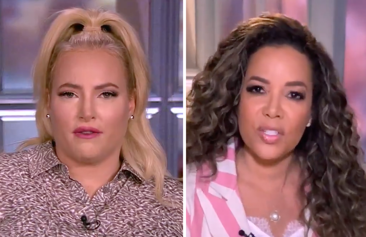 Meghan McCain and Sunny Hostin tag-teamed Thursday on The View (ABC)