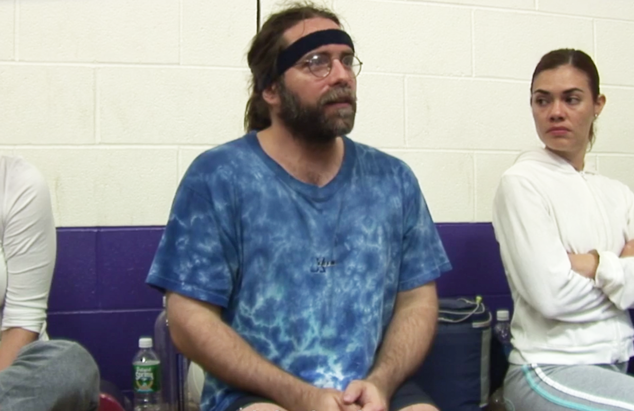 NXIVM leader Keith Raniere at a volleyball game (Photo: HBO Max)