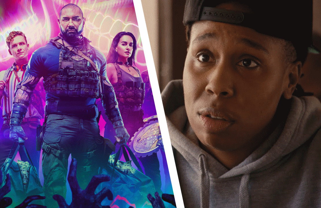 Left: Matthias Schweighöfer, Dave Bautista and Samantha Win in Army of the Dead; Right: Lena Waithe in Master of None. (Photos: Netflix)