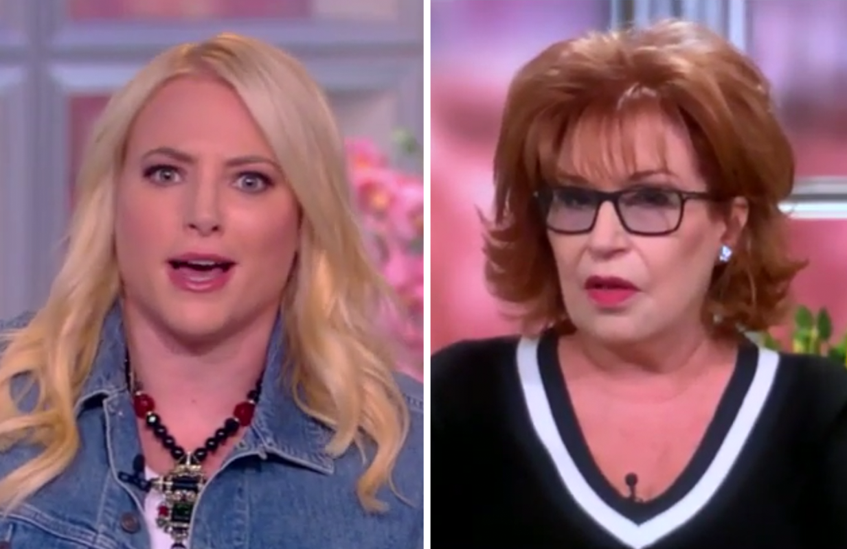 Meghan McCain took things just a little personally today on The View. (Photos: ABC)