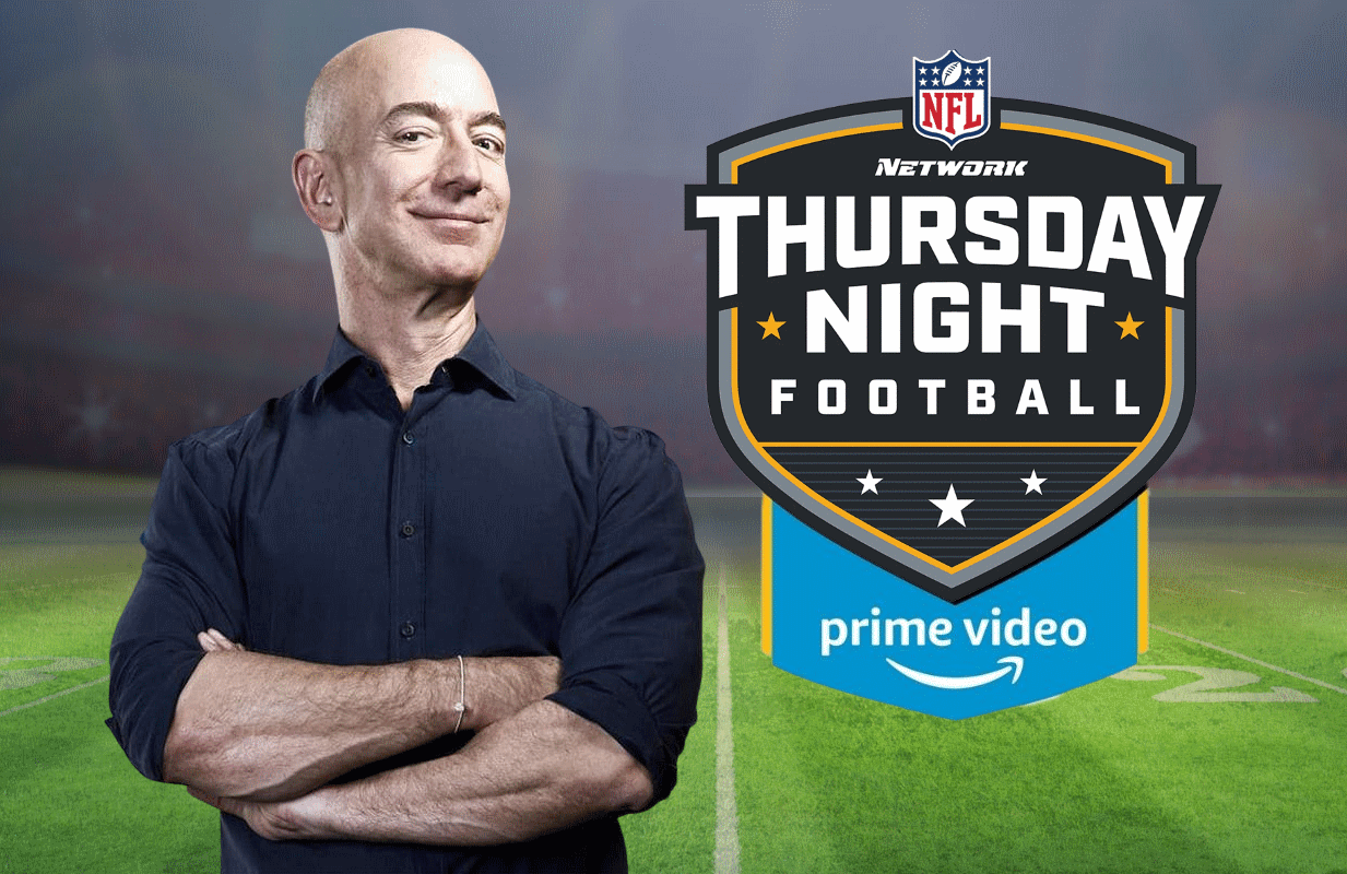 Amazon Prime Video has acquired the rights to be the exclusive home of Thursday Night Football for ten years beginning in 2023.