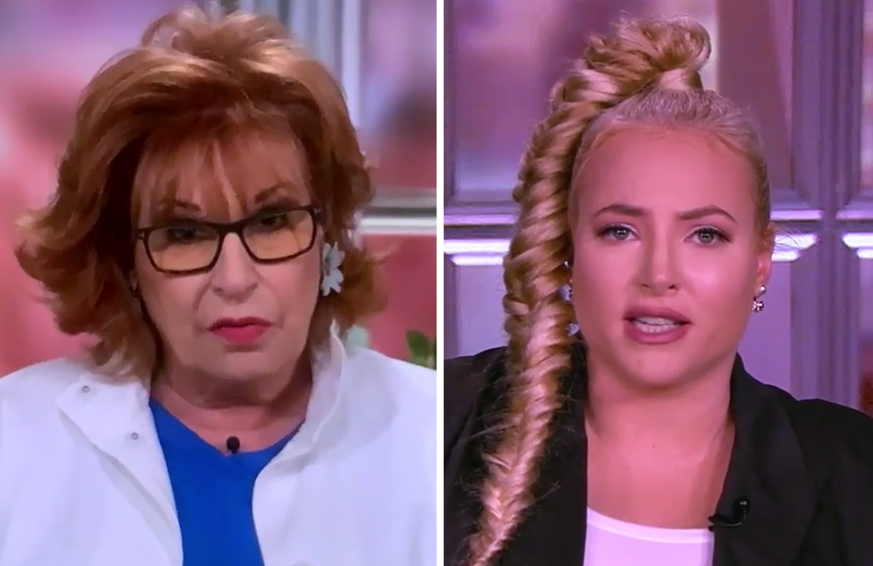 Joy and Meghan gave viewers whiplash Thursday on The View (Photo: ABC)