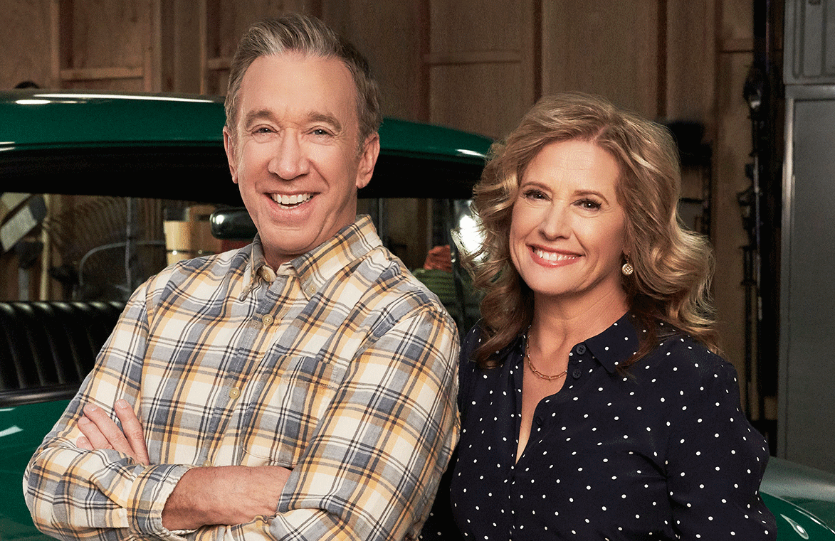 Tim Allen and Nancy Travis part ways after nine seasons as on-screen husband and wife (Photo: FOX)