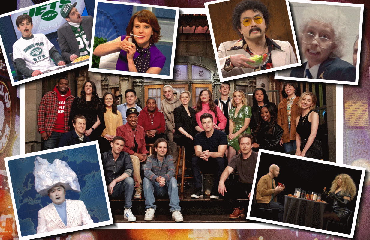 For as deadly serious as real life was this past year, SNL thrived when it was at its most silly. (Photos: NBC)