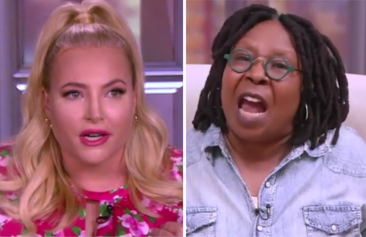 Whoopi Goldberg was not in the mood for Meghan McCain's ranting today. (Photo: ABC)