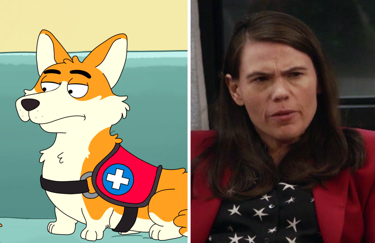 Clea DuVall voices Elsa, a power-hungry foil to Honey. (Photos: FOX/HBO Max)