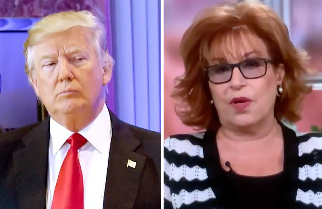 Everyone's invited to Joy Behar's post-indictment party. (Photos: ABC)