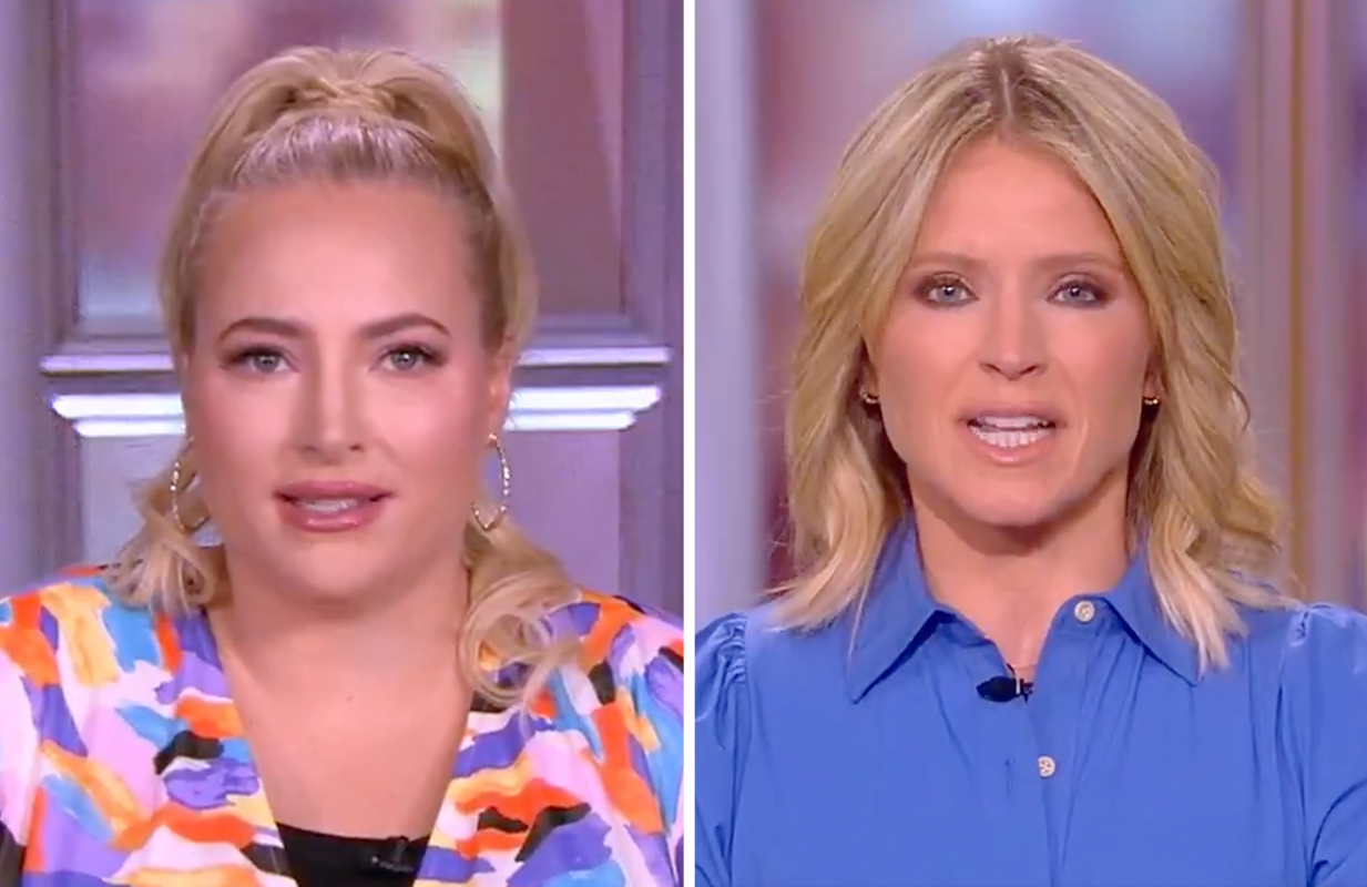 Meghan McCain and Sara Haines aren't fans of NYC Pride's ban on uniformed police officers. (Photos: ABC)