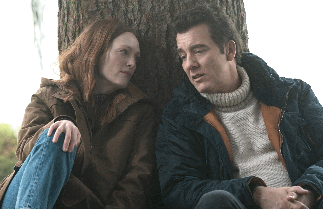 Julianne Moore and Clive Owens in Lisey's Story. (Photo: Apple TV+)