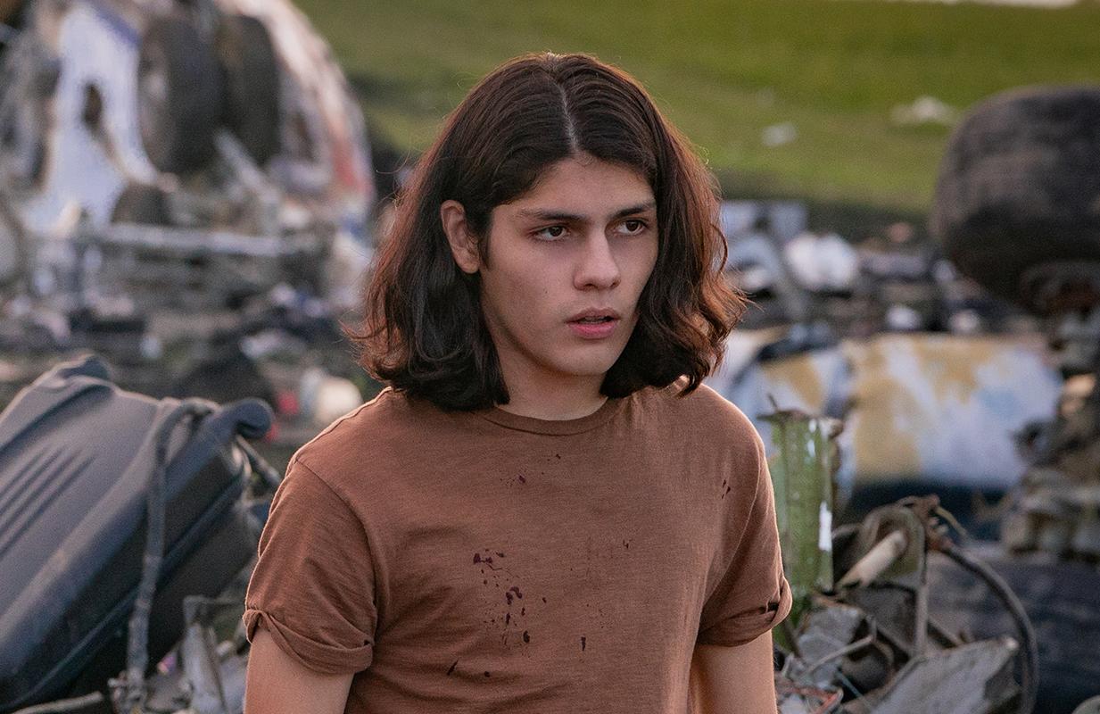 Lucius Hoyos plays Rodriguez's eldest son, Noah. (Photo: Netflix)