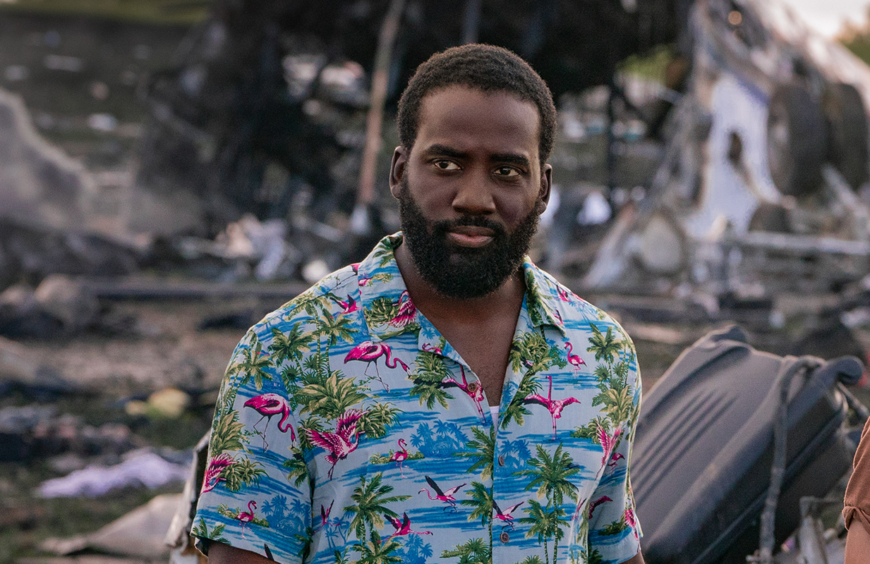 Shamier Anderson's Dodge joins the Adams family in their fight for survival. (Photo: Netflix)