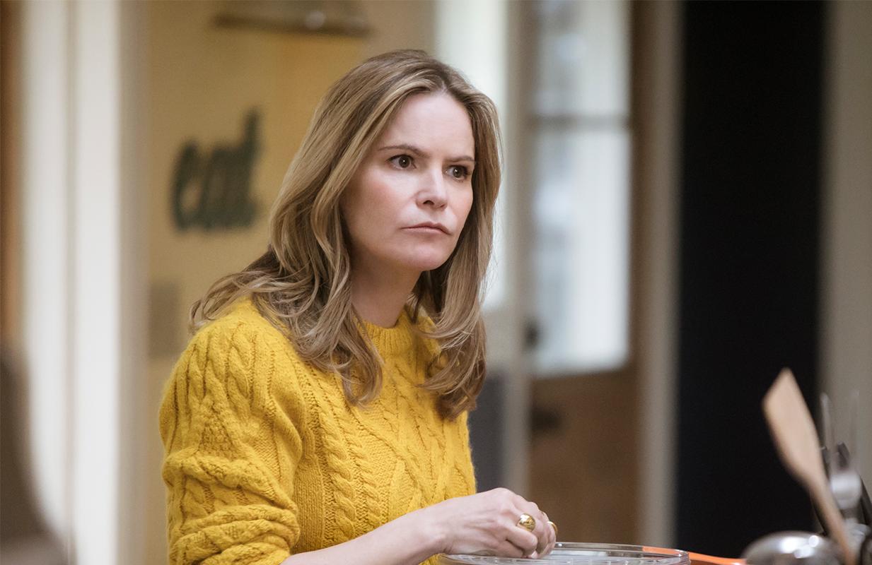 Jennifer Jason Leigh also stars in family dramedy Atypical. (Photo: Netflix)