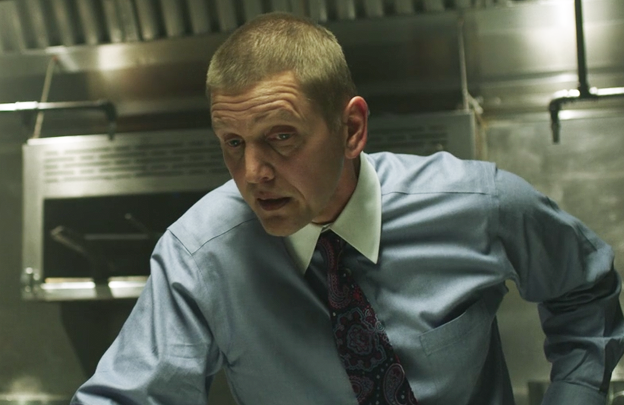 Canadian character actor Barry Pepper in Running with the Devil. (Photo: Hulu)