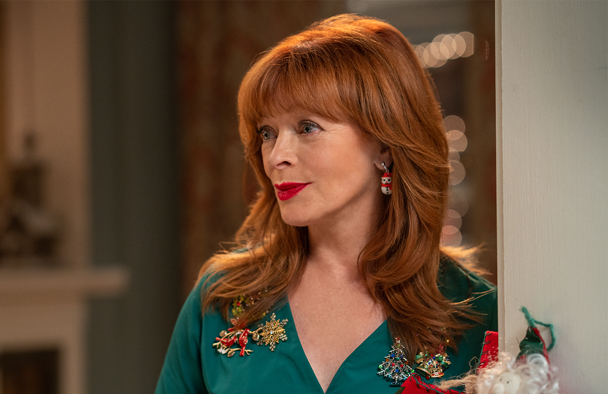 Frances Fisher also brought her limitless talent to Netflix rom-com Holidate. (Photo: Netflix)