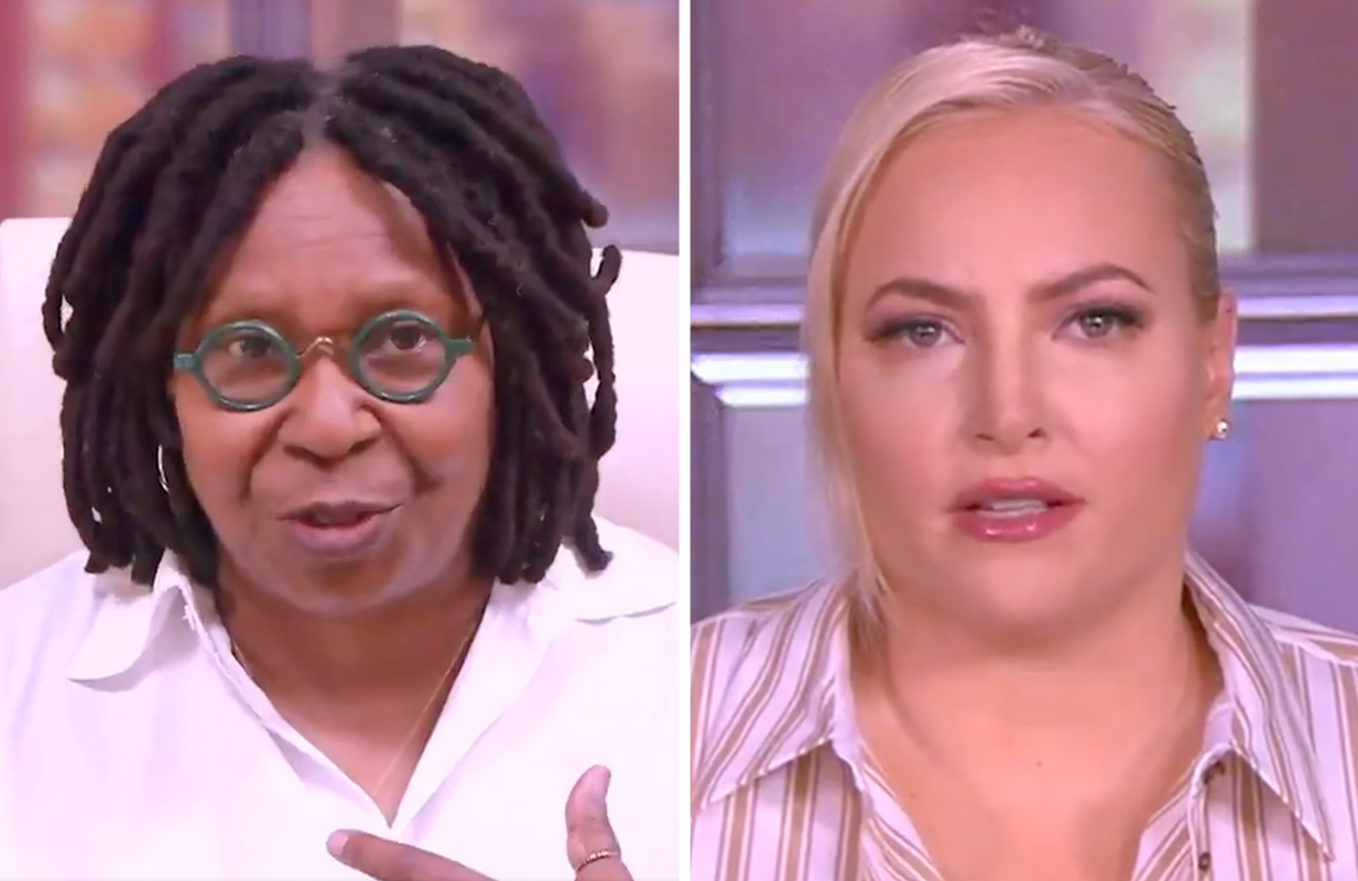 The View hosts actually agreed on something Tuesday morning — has hell frozen over? (Photos: ABC)