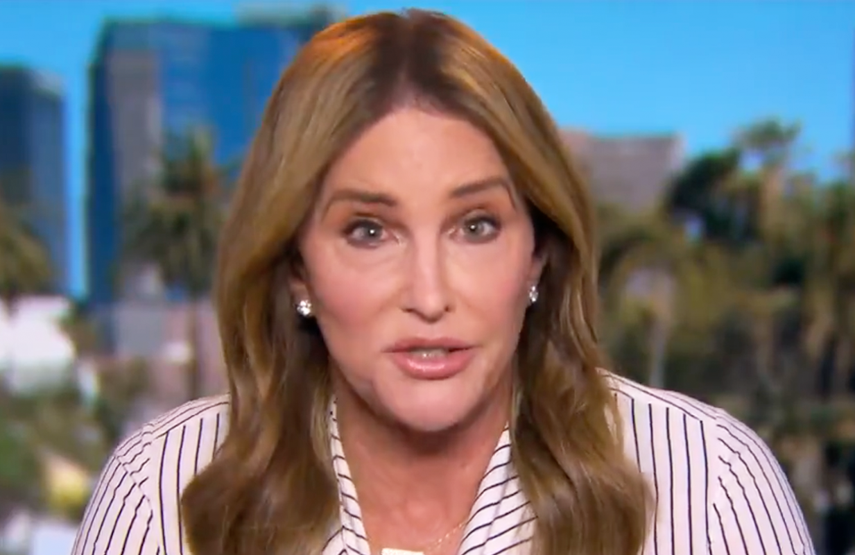 Caitlyn Jenner clashed with Joy Behar Thursday on The View. (Photo: ABC)