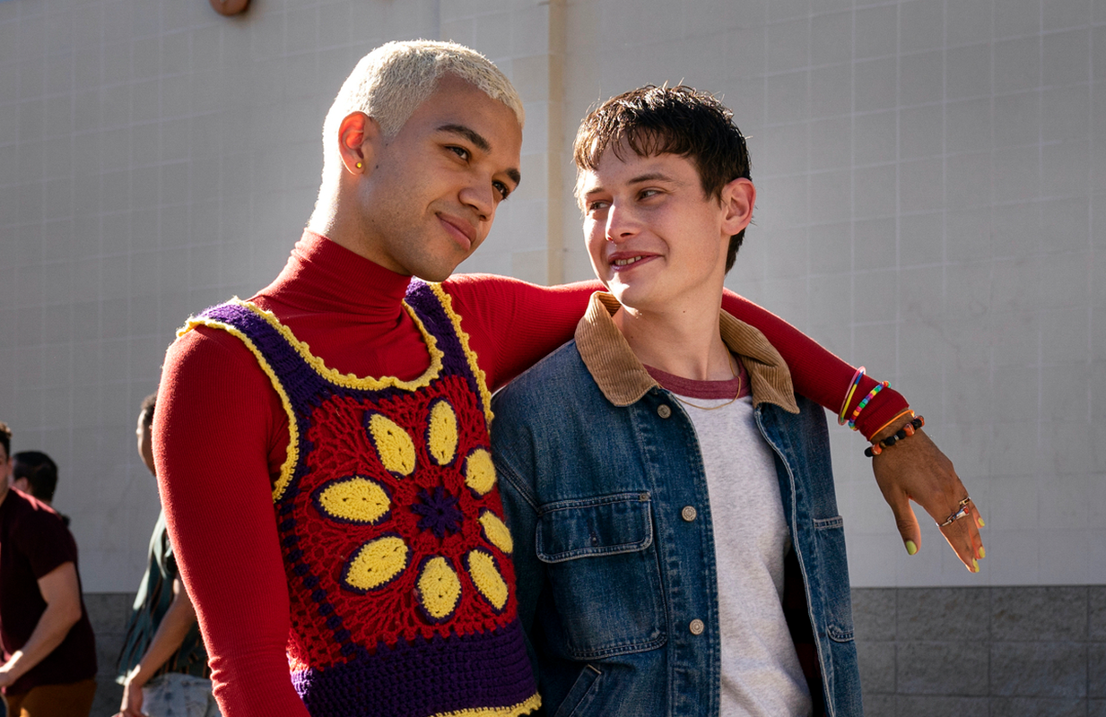 Chester (Justice Smith) and Nathan (Uly Schlesinger) in Generation Part 2. (Photo: HBO Max)