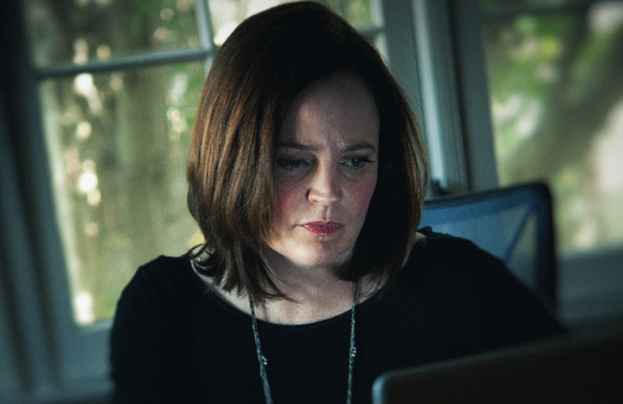 Serial killer-hunter Michelle McNamara in a photo from I'll Be Gone in the Dark. (HBO)