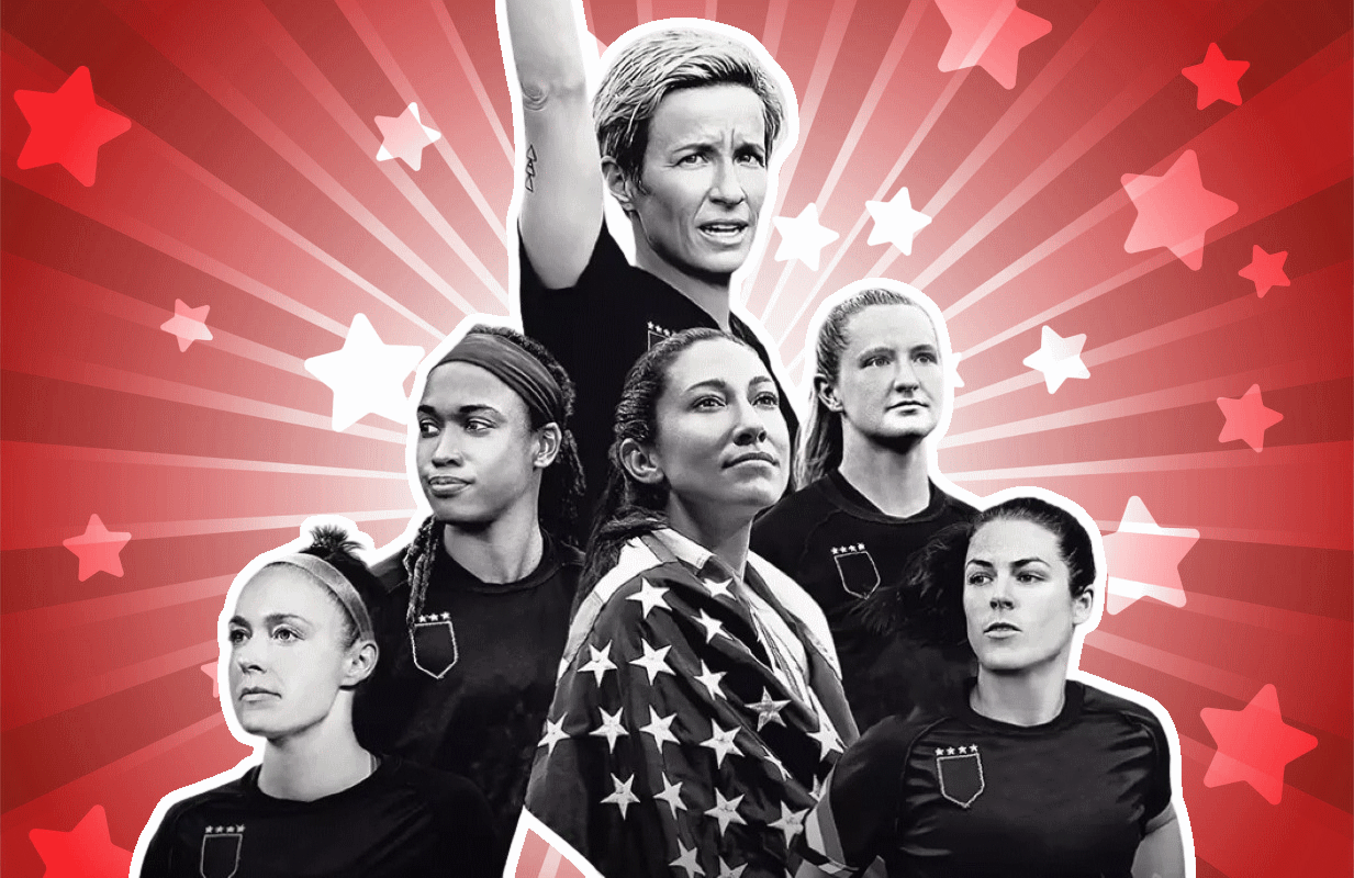 LFG follows the U.S. women's national soccer team's fight for equal pay. (Photo: HBO Max)