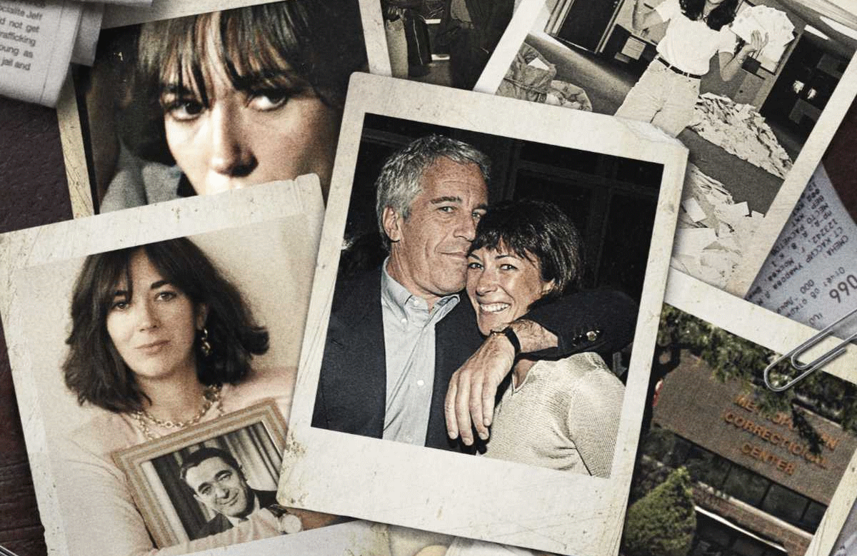 Epstein's Shadow: Ghislaine Maxwell tracks the rise and fall of the enigmatic socialite ahead of her November trial. (Photo: Peacock)