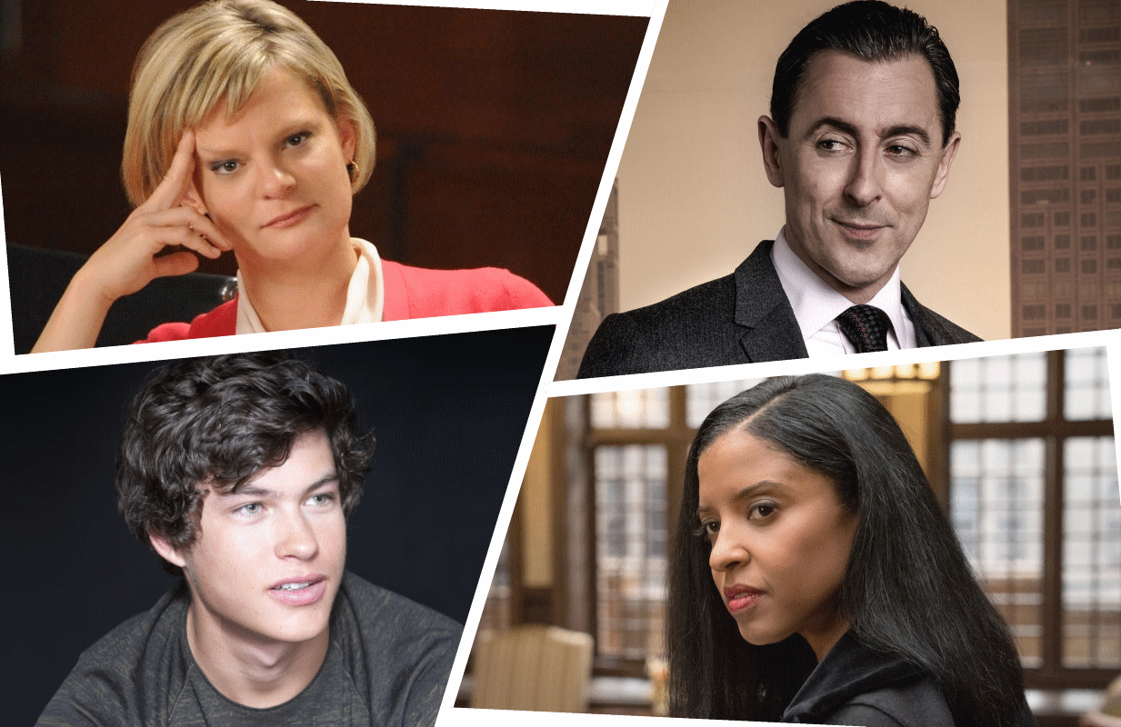 Will this be the season these Good Wife favorites finally pay Diane Lockhart a visit at her new digs? (Photos: CBS)