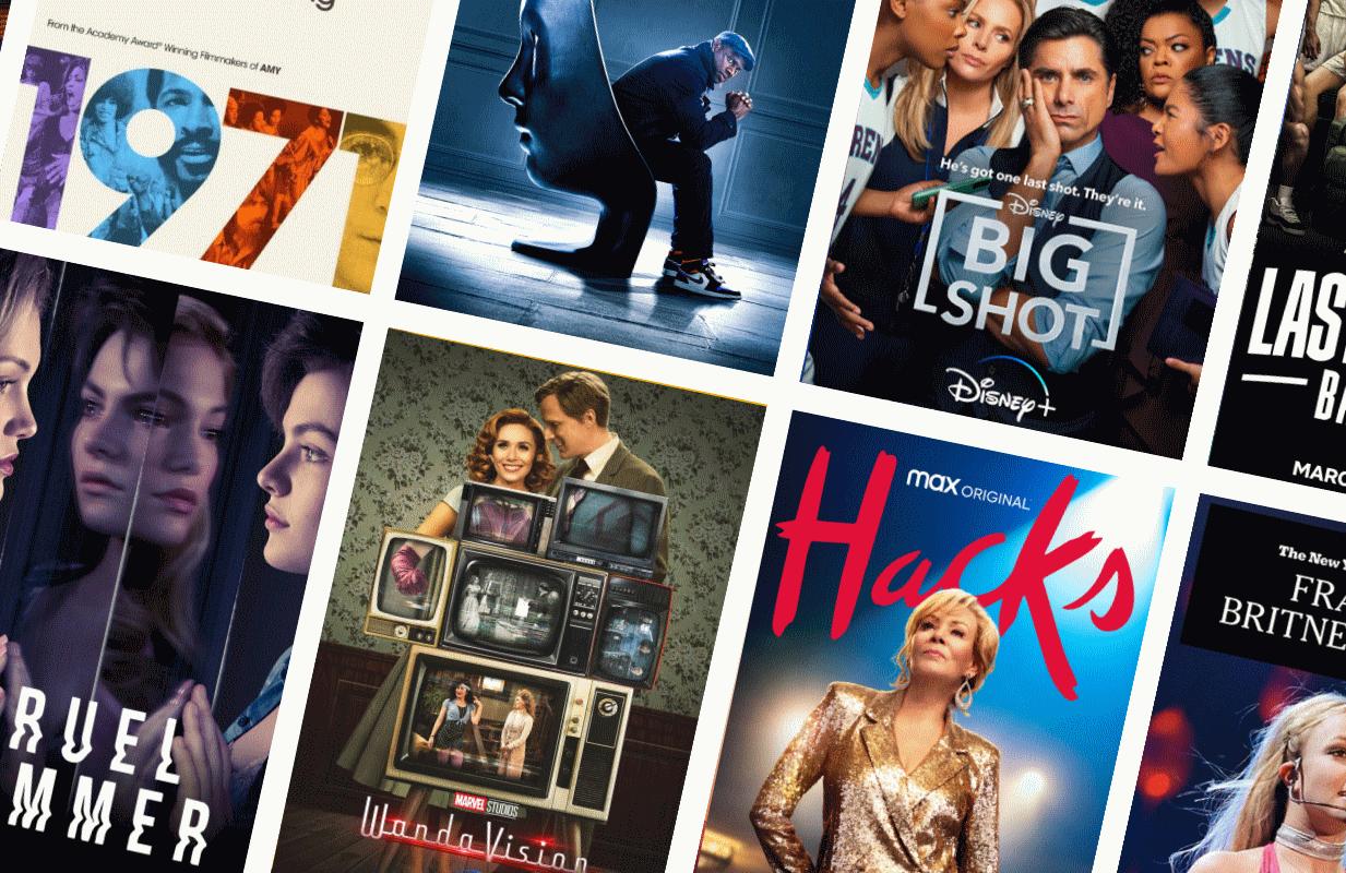 (Photos: Apple TV+, Netflix, Disney+, Freeform, HBO Max, FX)