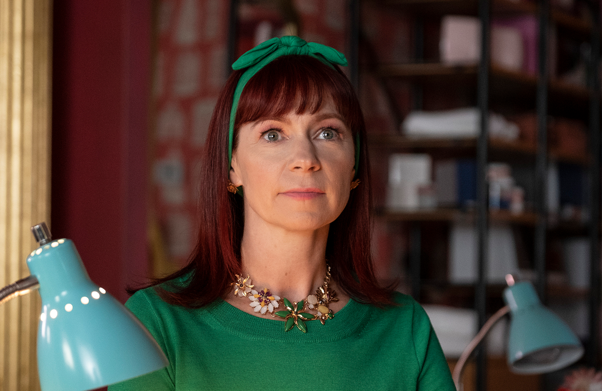 Carrie Preston in Claws. Photo: TNT