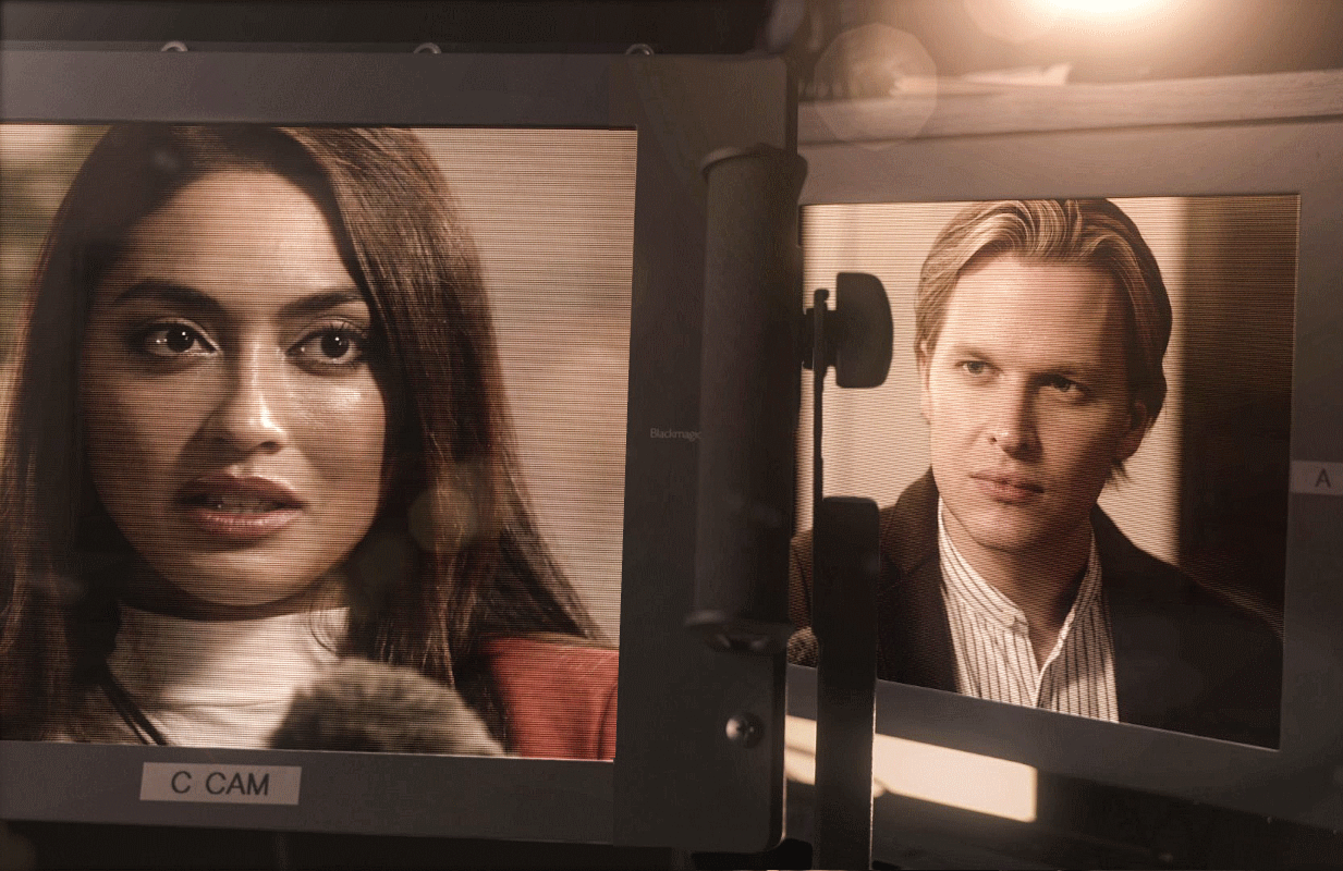 Ronan Farrow interviews Ambra Gutierrez in Catch and Kill: The Podcast Tapes. (Photo: HBO)