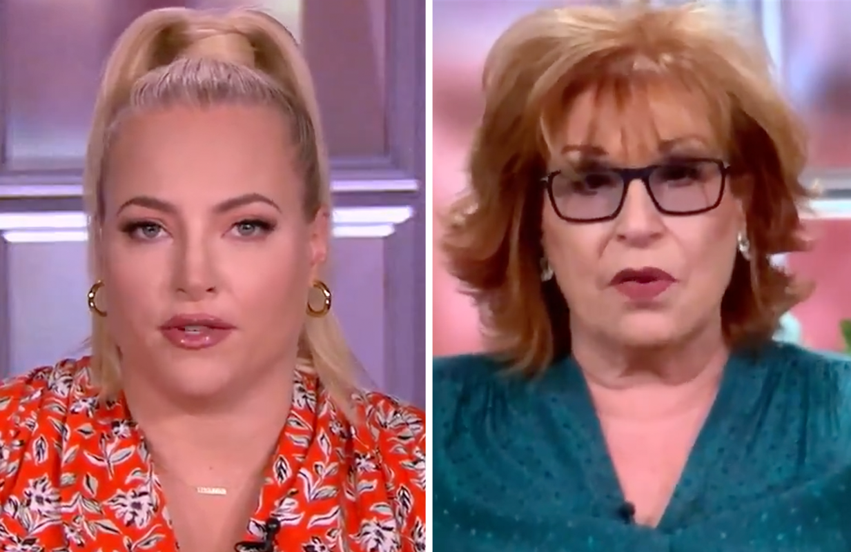 Meghan McCain and Joy Behar are enjoying their final few weeks of feuding on The View. (Photos: ABC)