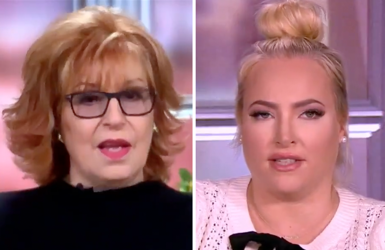 There wasn't a bad vibe to be found Friday morning on The View. (Photos: ABC)