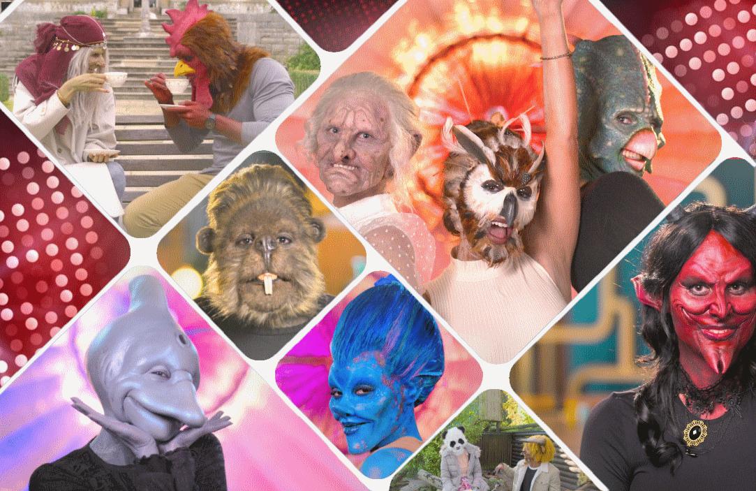 Sexy Beasts premieres today on Netflix. (Photos: Netflix)