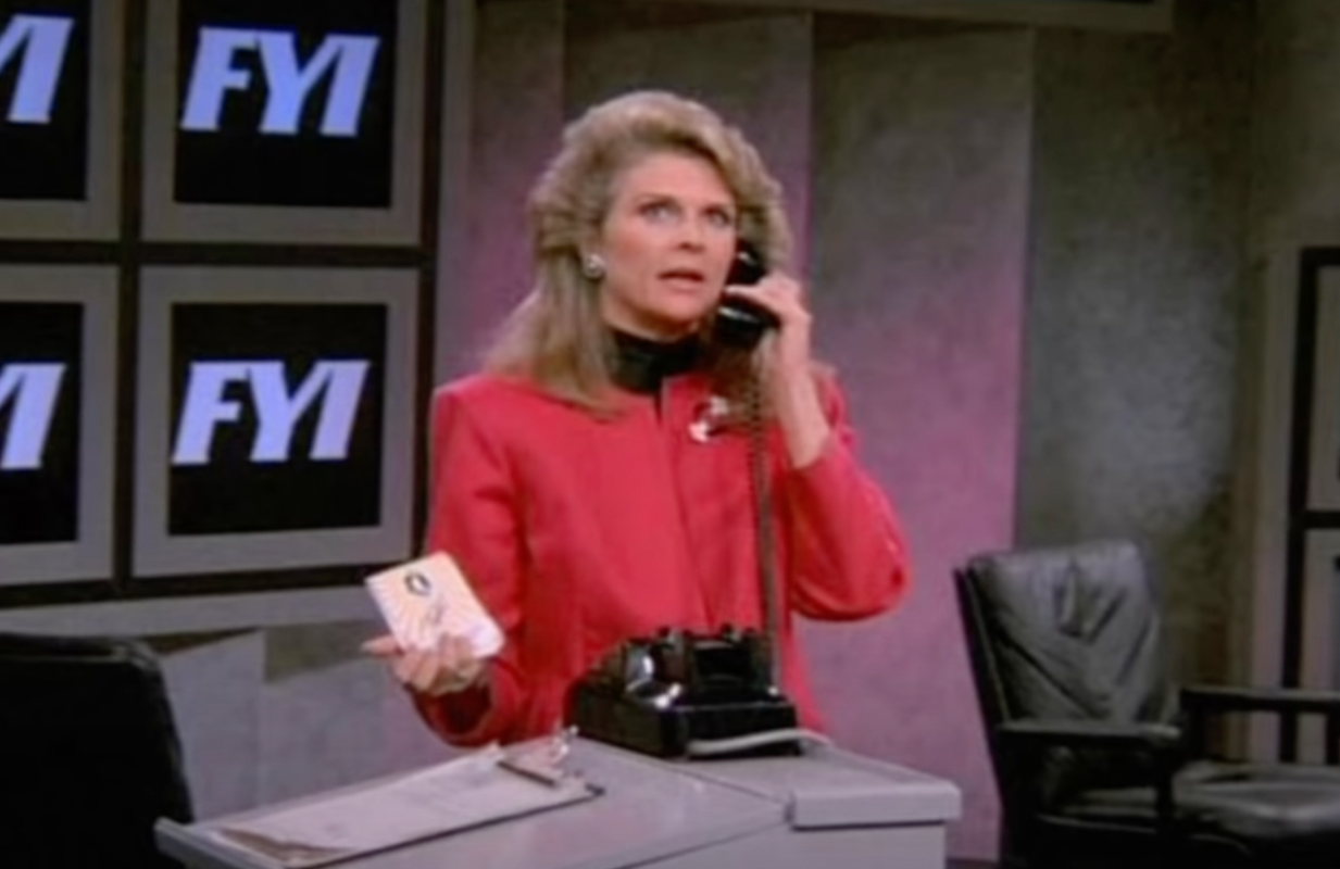 Candice Bergen in the first iteration of Murphy Brown. (Photo: CBS)