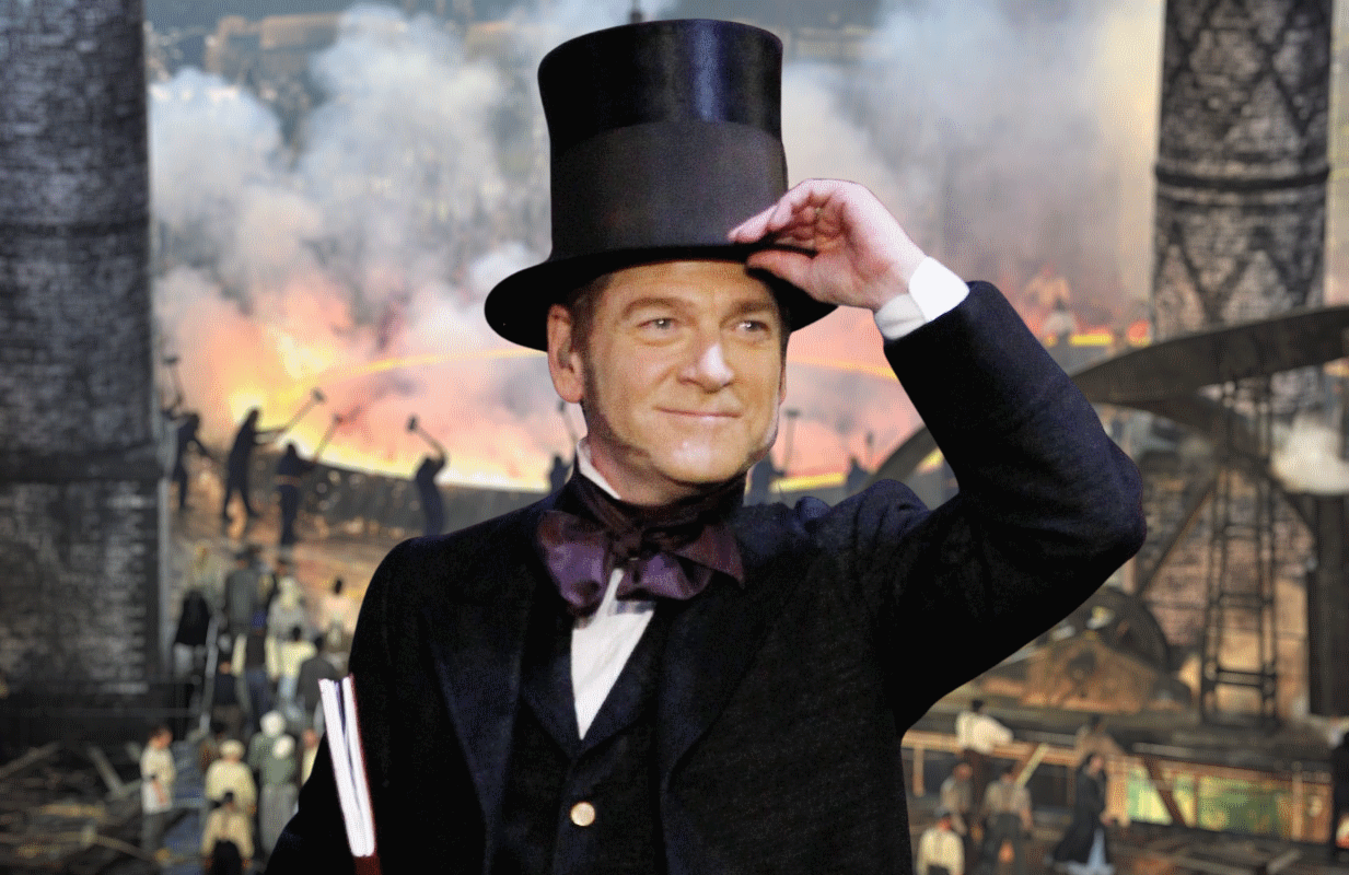 Kenneth Branagh played 19th Century engineering giant Isambard Kingdom Brunel at the 2012 Opening Ceremonies.