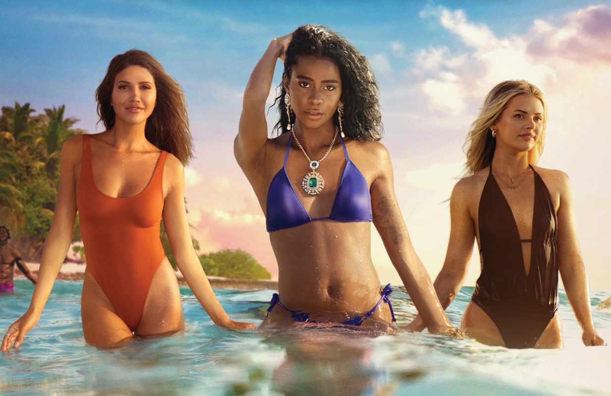 Three women are tasked with separating the men from the FBoys in HBO Max's new dating series. (Photo: HBO Max)