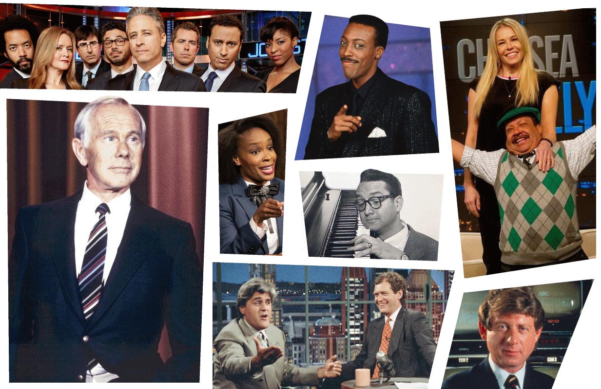 (Photos: Comedy Central, Paramount, E!, NBC, ABC)