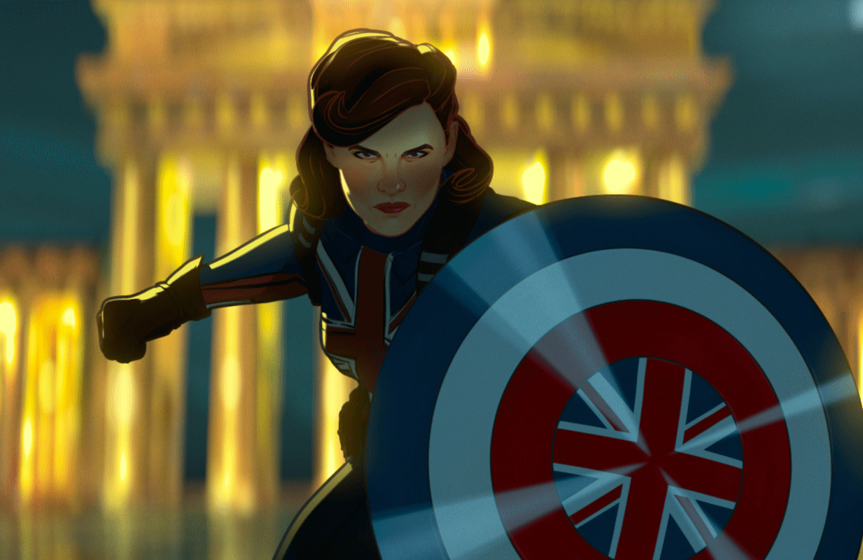 Hayley Atwell returns as Captain Peggy Carter.