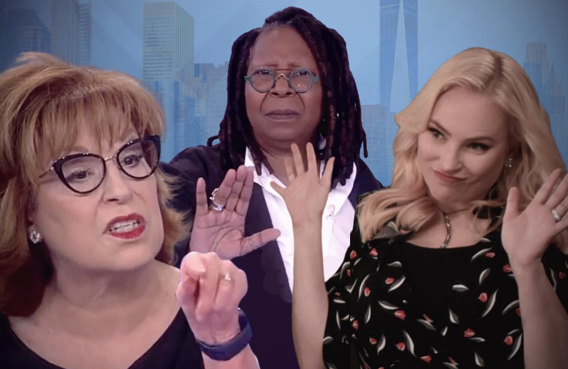 Joy Behar, Whoopi Goldberg and Meghan McCain had it out this season on The View. (Photos: ABC)