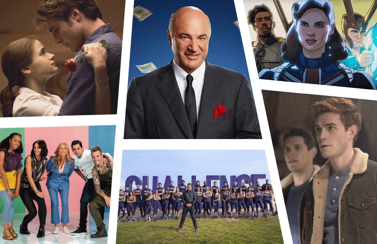(Photos: Netflix, CNBC, Disney+, MTV, The CW)