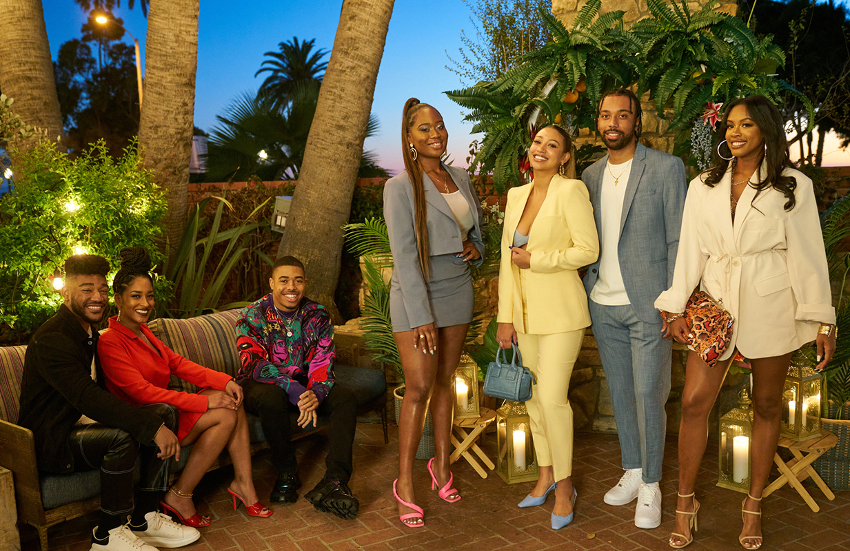 Issa Rae serves as an executive producer on HBO Max's new reality series about a group of friends living in South Los Angeles. (Photo: HBO Max)