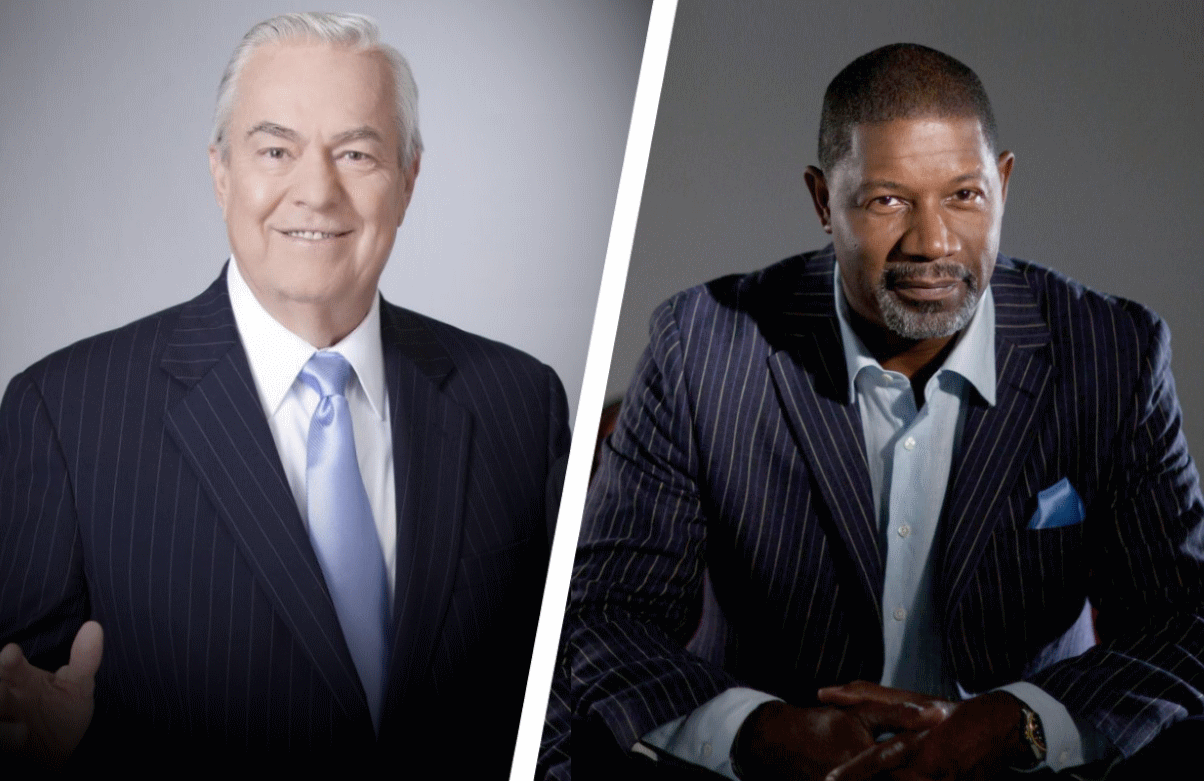 Icons old (Bill Kurtis) and newer (Dennis Haysbert) host A&E's two new true-crime revivals.