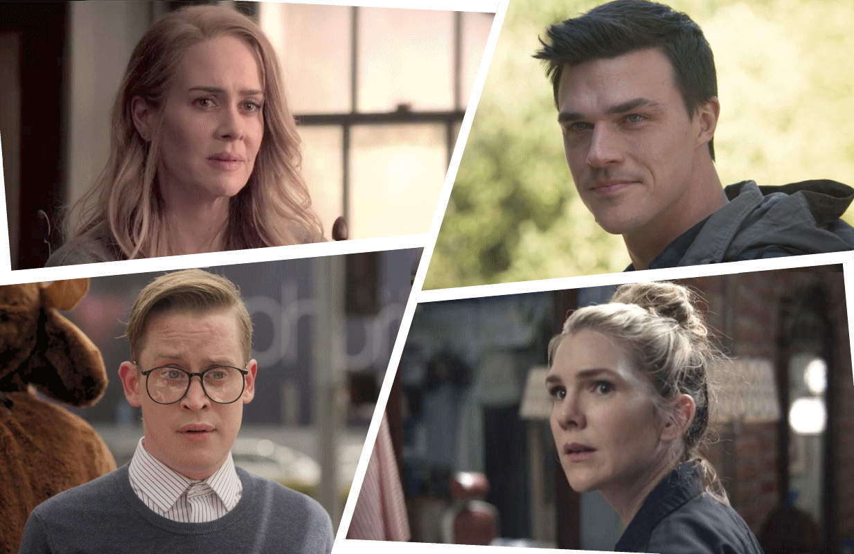 Sarah Paulson, Finn Wittrock, Macaulay Culkin and Lily Rabe are among those gathered for the tenth season of American Horror Story.