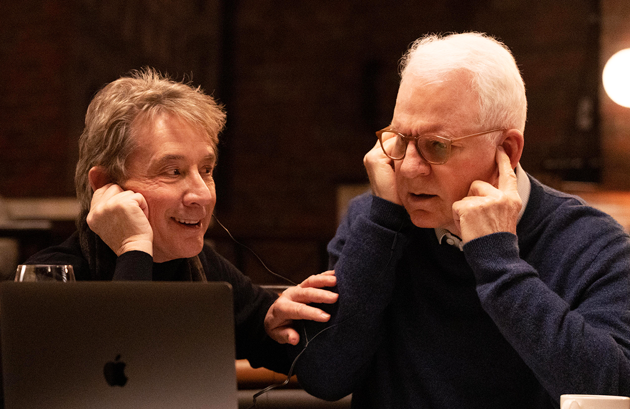 Martin Short and Steve Martin play true crime-obsessed sleuths in Hulu's new comedy series. (Photo: Hulu)