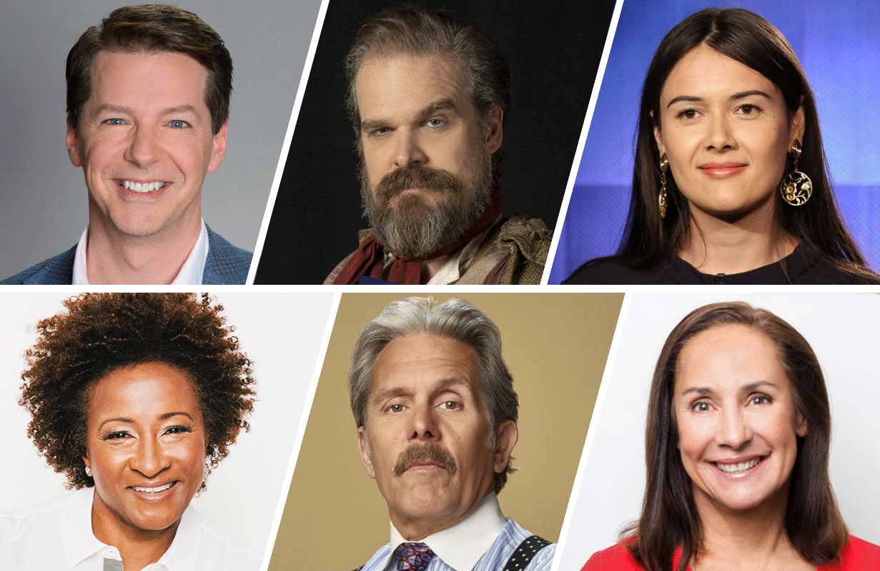 Sean Hayes, David Harbour, Patti Harrison, Wanda Sykes, Gary Cole and Laurie Metcalf lend their voices to Q-Force.