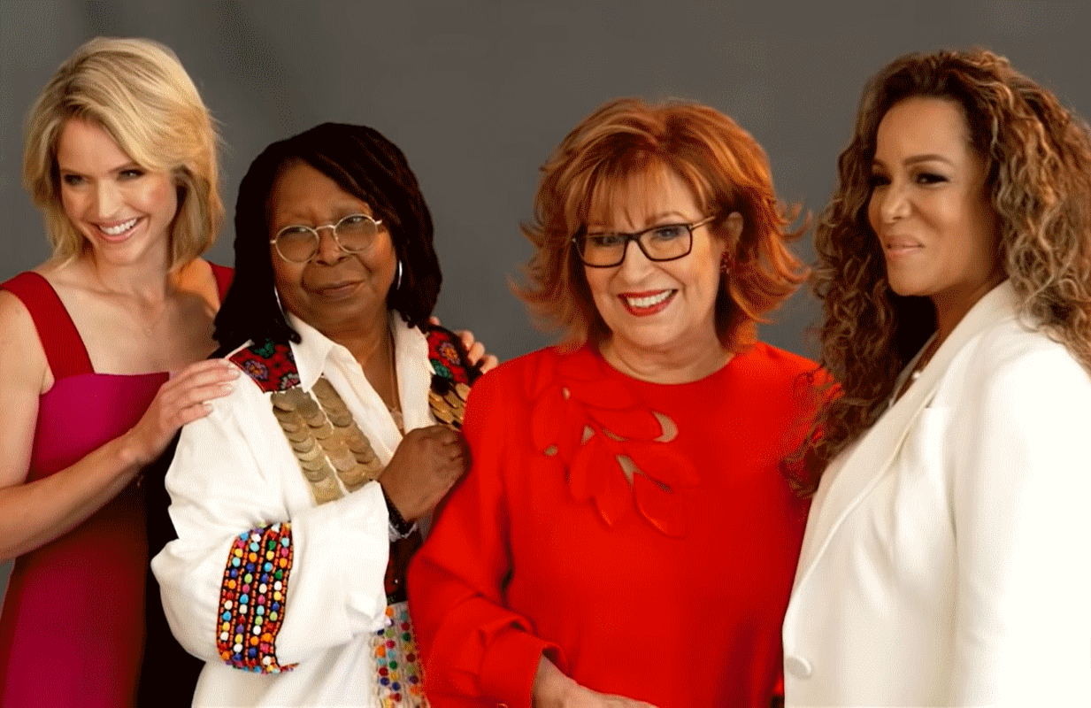 Co-hosts Sara Haines, Whoopi Goldberg, Joy Behar, and Sunny Hostin return to The View for its milestone 25th season on Tuesday September 7. (Photo: ABC)
