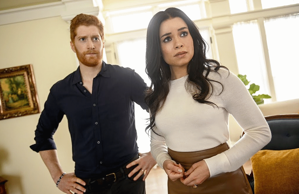Jordan Dean and Sydney Morton are the third duo to step into Harry and Meghan's shoes in Lifetime's hit franchise. (Photo: Lifetime)